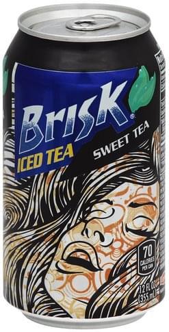 Brisk Sweet Tea Iced Tea - 12 oz