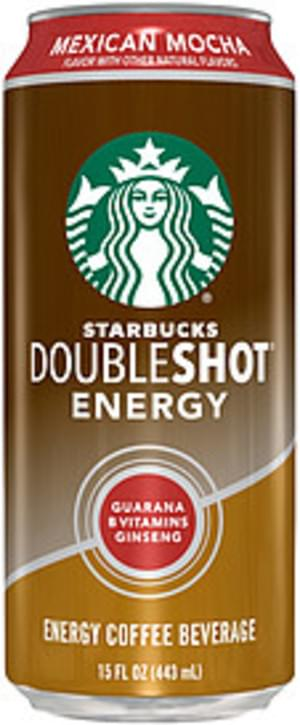 Starbucks Doubleshot Mexican Mocha Energy Starbucks