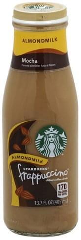 Starbucks Chilled Almondmilk Mocha Flavored Coffee Drink