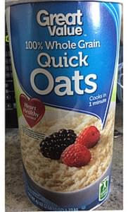 Great Value Quick Oats