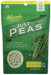 Karens Naturals Just Peas Organic