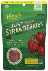 Karens Naturals Just Strawberries Organic