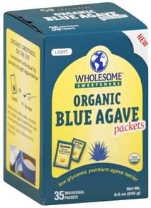 Wholesome Blue Agave Organic, Light