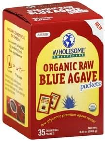 Wholesome Blue Agave Organic Raw, Amber
