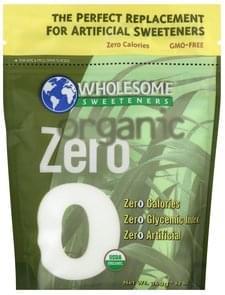 Wholesome Zero Calorie Sweetener Organic Zero