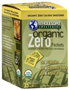 Wholesome Organic Zero Calorie Sweetener Packets