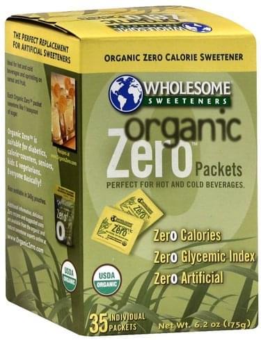 Wholesome Packets Organic Zero Calorie Sweetener - 35 ea