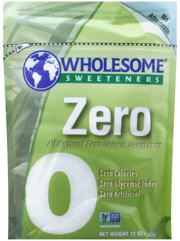 Wholesome All Natural Zero Calorie Sweetener - 12 oz