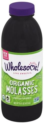 Wholesome Organic, Unsulphured Molasses - 16 oz