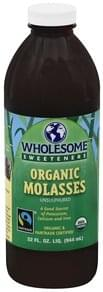 Wholesome Molasses Organic, Unsulphured