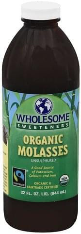 Wholesome Organic, Unsulphured Molasses - 32 oz