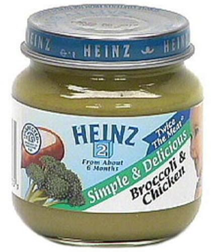 Heinz Broccoli & Chicken - 4 oz