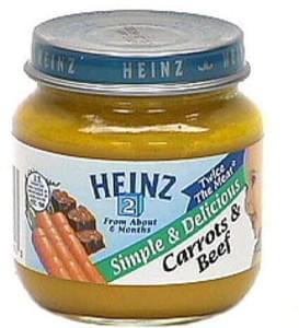 Heinz Carrots & Beef