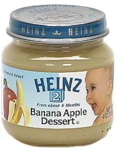 Heinz Banana Apple Dessert