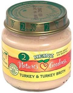 Heinz Turkey & Turkey Broth Stage 2