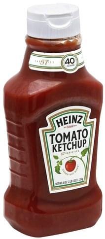 Heinz Tomato Ketchup - 40 oz