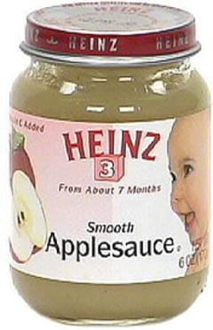 Heinz Smooth Applesauce