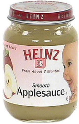 Heinz Smooth Applesauce - 6 oz