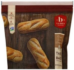 La Brea Bakery Baguettes French Demi, 4 Pack
