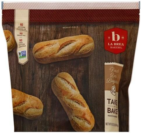 La Brea Bakery French Demi, 4 Pack