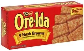 Ore Ida Hash Browns