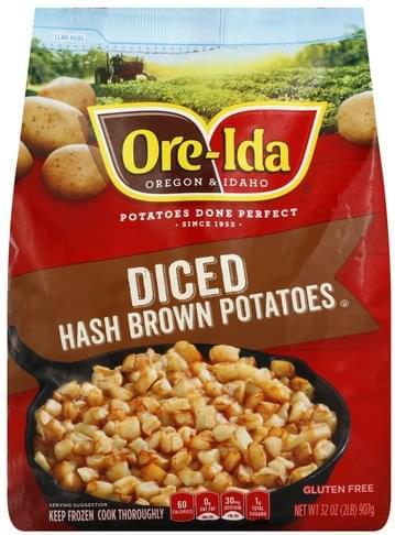 Ore Ida Diced Hash Brown Potatoes - 32