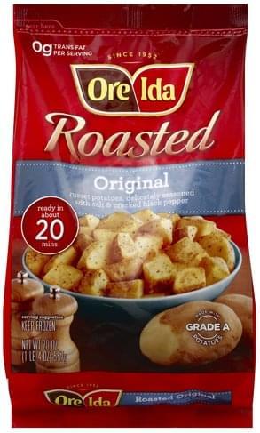 Ore Ida Roasted, Original Potatoes - 20