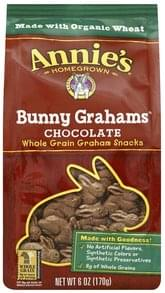 Annies Bunny Grahams Chocolate