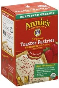 Annies Toaster Pastries Strawberry with Frosting