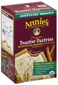 Annies Toaster Pastries Brown Sugar Cinnamon with Frosting