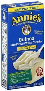 Annies Rice Pasta & White Cheddar Quinoa