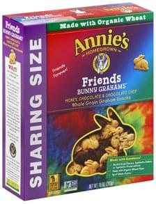 Annies Bunny Grahams Friends, Sharing Size