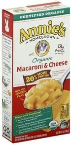 Annies Macaroni & Cheese Organic