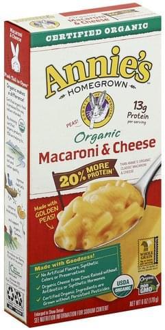 Annies Organic Macaroni & Cheese - 6 oz