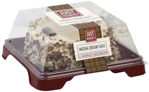 Just Desserts Mocha Cream Cake - 22 oz