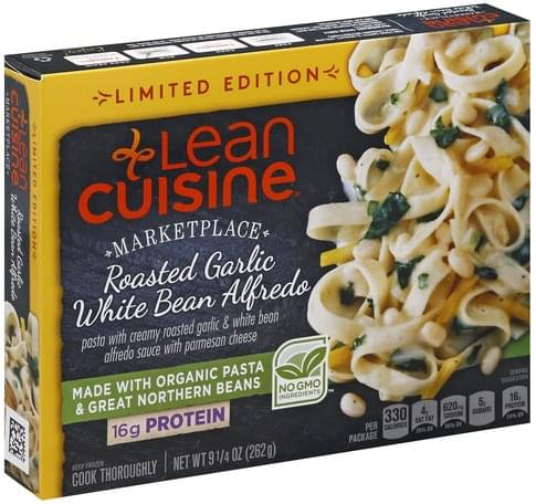 Lean Cuisine Roasted Garlic White Bean Alfredo - 9.25 oz