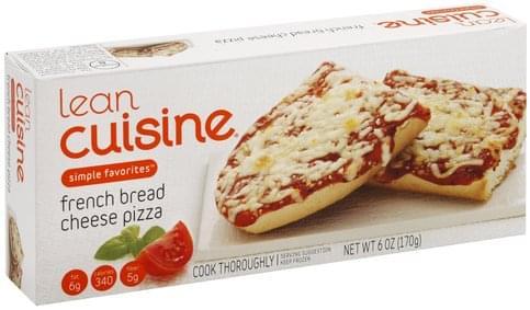 Lean Cuisine French Bread, Cheese Pizza - 6 oz
