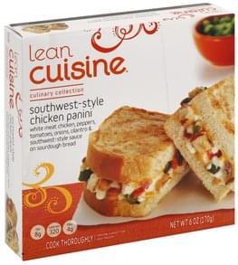 Lean Cuisine Chicken Panini Southwest-Style