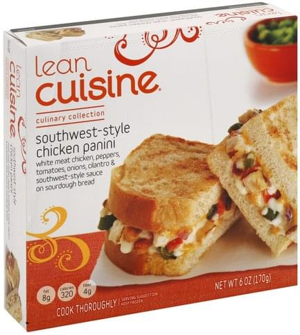 Lean Cuisine Southwest-Style Chicken Panini - 6 oz