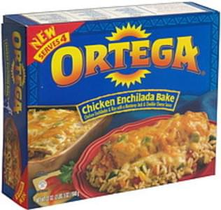 Ortega Chicken Enchilada Bake