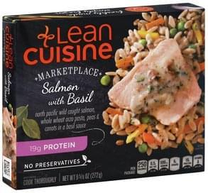 Lean Cuisine Salmon with Basil