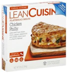Lean Cuisine Flatbread Melts Chicken Philly