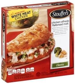 Stouffers Flatbread Melt Chicken Alfredo