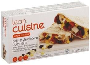 Lean Cuisine Chicken Quesadilla Baja-Style