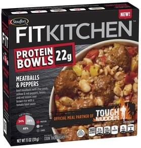Stouffers Meatballs & Peppers Meatballs & Peppers Protein Bowls