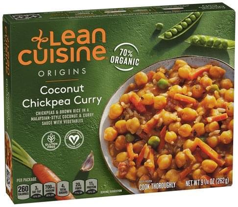 Lean Cuisine Curry, Coconut Chickpea - 9.25 oz