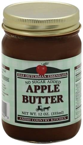 Das Dutchman Essenhaus Apple Butter - 12 oz