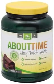 AboutTime Whey Protein Isolate Chocolate
