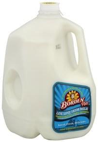 Borden Milk Lite Line, Skim