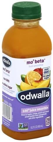 Odwalla Mo'Beta 100% Juice Smoothie - 15.2 oz